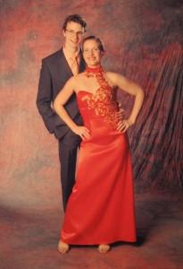 Chris und Nicole (Weihnachtsball 2009)